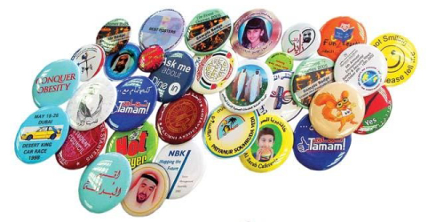 Button Badges Making