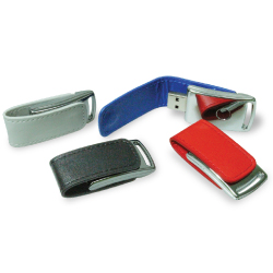USB Drives with Leather Case