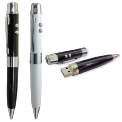 Multifunction USB Drives with Pen