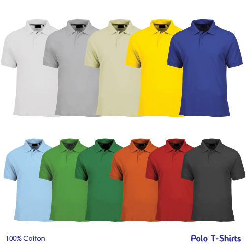 Promotional Cotton Polo T-Shirts