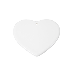 Heart Shaped Ceramic Ornaments
