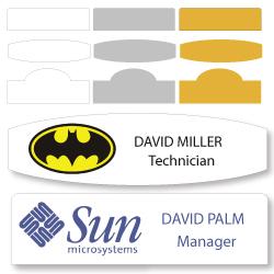 Custom Shape Badges