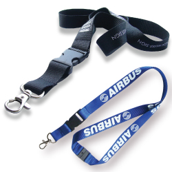 Premium Lanyards with Safety Hook & Buckle