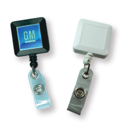 Badge Reels in Square Shape