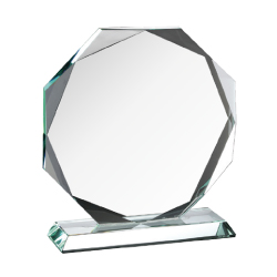 Crystal Engraved Trophy