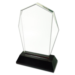 Buy Crystal Trophy with Logo Branding