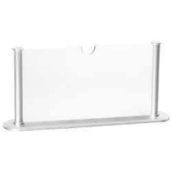 Silver Table Sign Holders