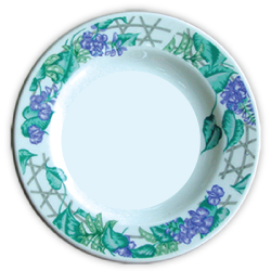 Ceramic Plates with Sublimation Print