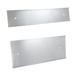 Silver Wall Sign Holders