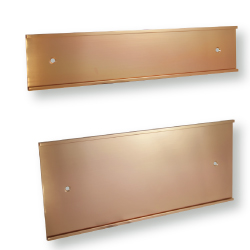 Golden Wall Sign Holders