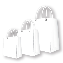 Paper Bags White Color