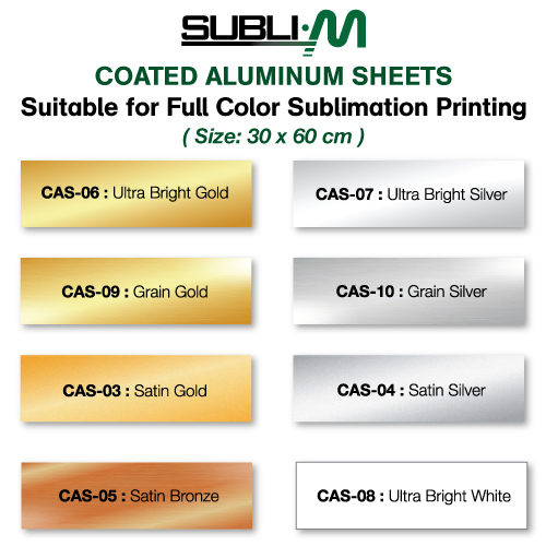 Sublimation Aluminum Sheets