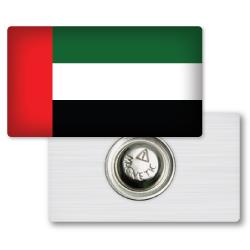 UAE National Day Badges Rectangle shape