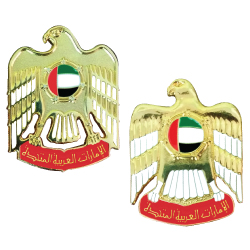 UAE Falcon Logo Badges with back magnet
