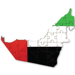 UAE Map Hardboard Puzzles