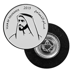 Year of Tolerance Metal Badges 2111