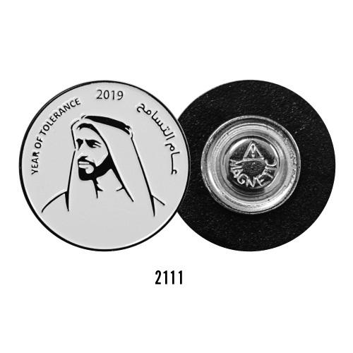 Year of Tolerance Metal Badges 2111