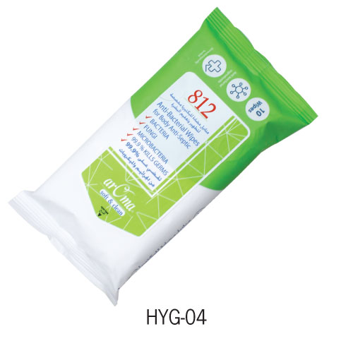 Anti-Bacterial Wipes HYG-04