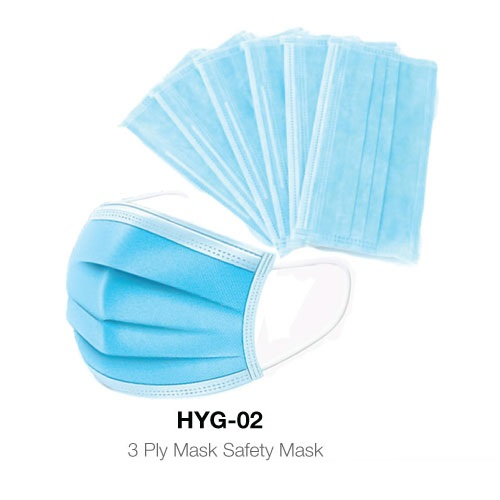 3 Ply Protective Mask HYG-02