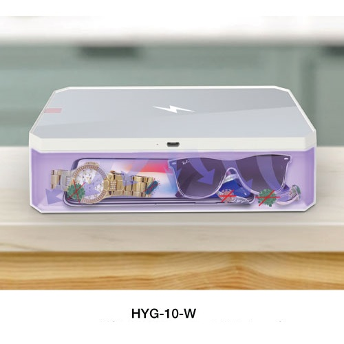 UVC Sterilizer Box with Wireless Charger HYG-10-W