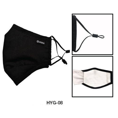 Fabric Face Mask with Air Vent HYG-08