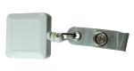 Badge Reels 126 White