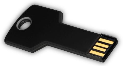 Key shaped USB 4GB - Black
