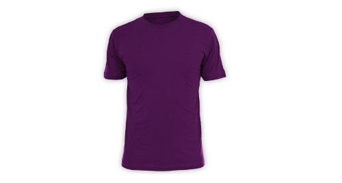Cotton T-shirt - Purple Color