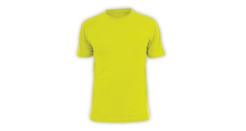 Cotton T-shirt Yellow Color