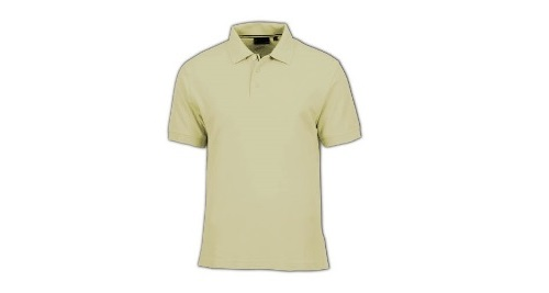 Cotton PoloT-shirt - Beige Color