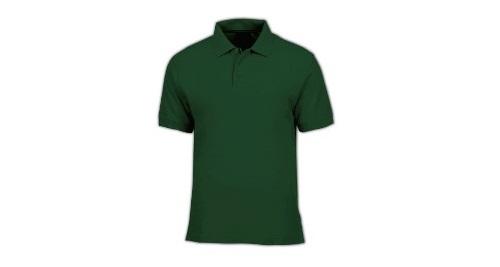 Cotton Polo T-shirt - Green Color